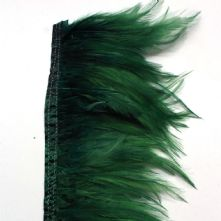 Bottle Green Full Hackle Feathers